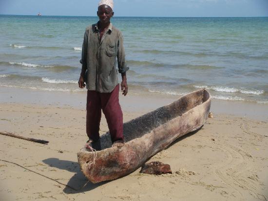 Butiama Beach: tipo di barca usata dai locali