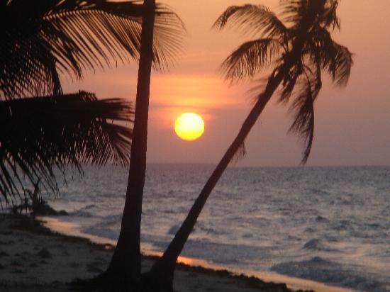 Butiama Beach: tramonto