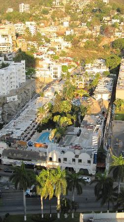 El Tropicano Acapulco: El Tropicano vue de l'hotel Casa Inn
