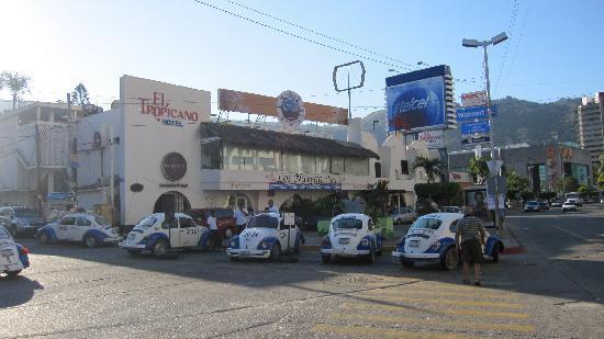 El Tropicano Acapulco: Vue de la facade de l'Hôtel