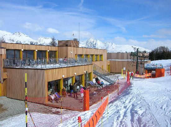 Village Club Cap'vacances de La Plagne : vue d'ensemble de l'hôtel