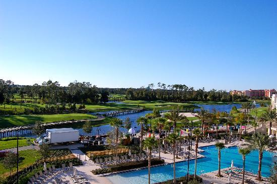 Waldorf Astoria Orlando: View from our balcony (1)