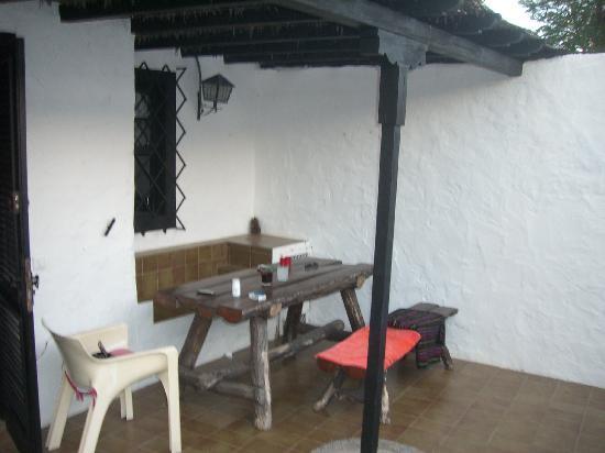 Santa Clara Bungalows: patio2