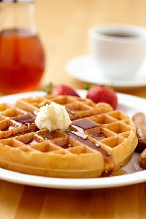Prestige Treasure Cove: Complimentary hot waffle bar