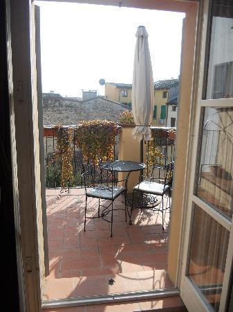 Rubra Bed & Breakfast & Apartments: Terrace