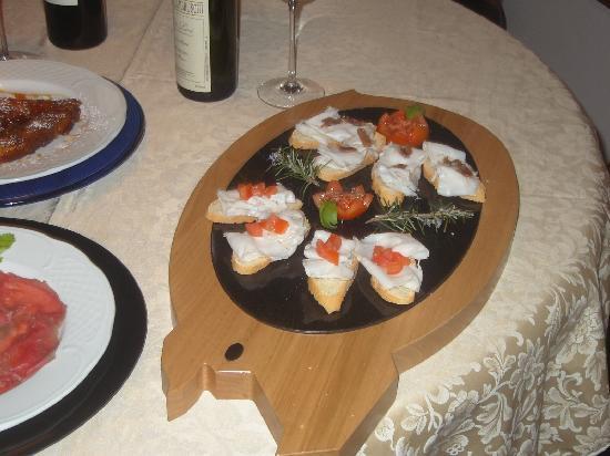 Ristorante Venanzio: Crostini Al Lardo