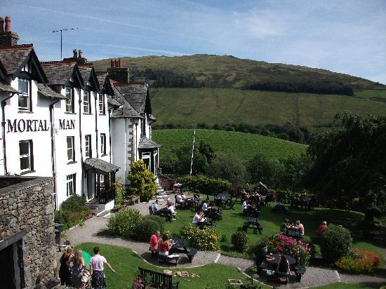 The Mortal Man: Best beer garden in England?