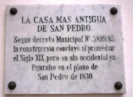 San Pedro, Argentina: Historia