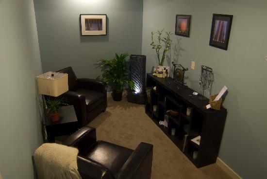 Enso Wellness Center & Day Spa: Enso Waiting Room
