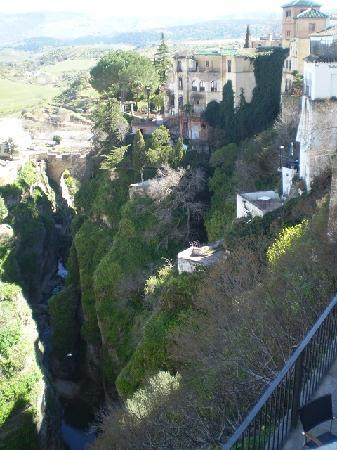 Ronda, Spanje: View from the bridge