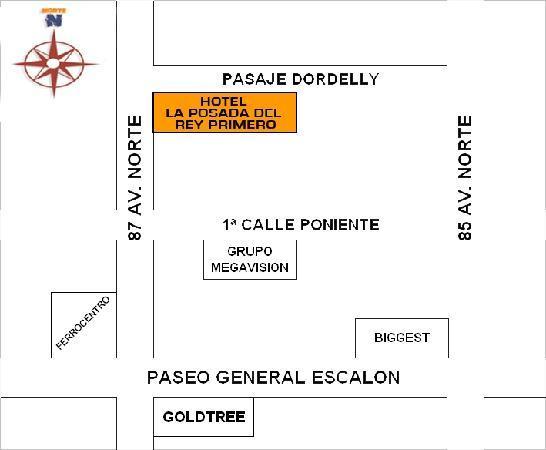 Hotel La Posada del Rey Primero: Mapa de ubicacion