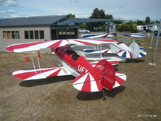 Abel Tasman Pilot a Stunt Plane: Pitts Specials are what we fly.
