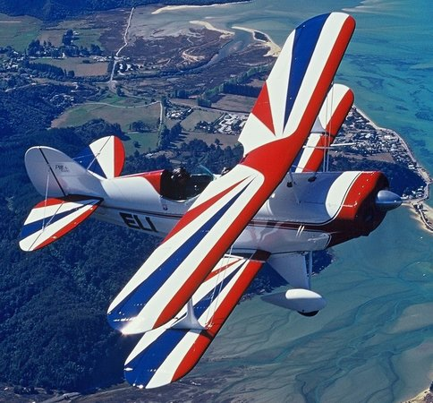 Abel Tasman Pilot a Stunt Plane: Put yourself in this photo!