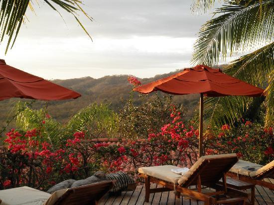 Los Altos de Eros: Relax by the deck