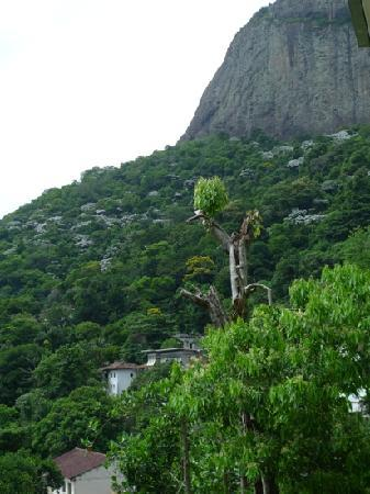 Gavea Tropical Boutique Hotel: Our side view from balcony.