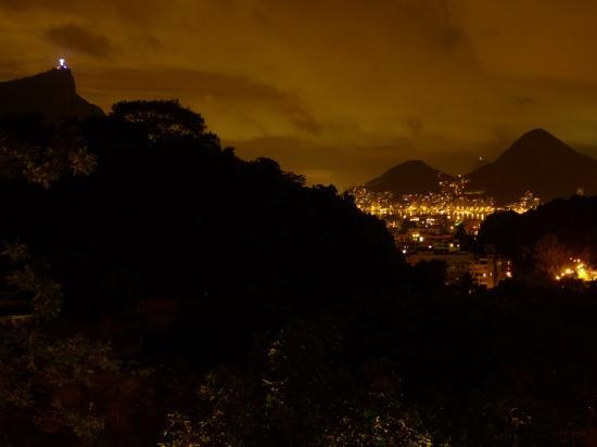 Gavea Tropical Boutique Hotel: Evening view from our balcony...
