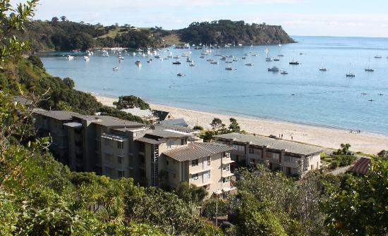 The Sands - Waiheke Island: The Sands complex from rear