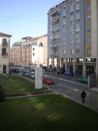 Hotel Plaza Padova: view from the room