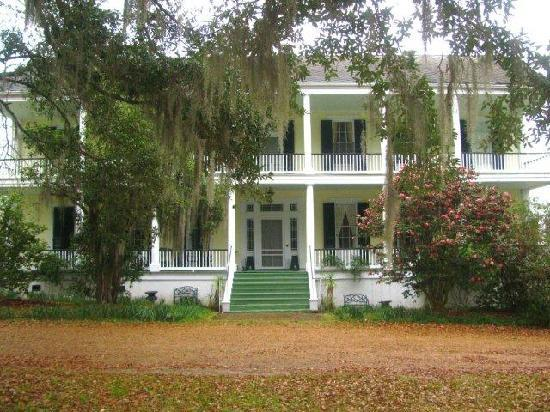 Elgin Plantation Bed and Breakfast: Main House, Elgin Plantation