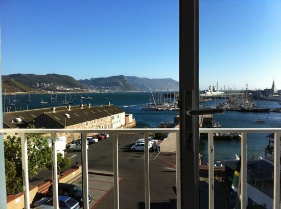 Simon's Town Quayside Hotel and Conference Centre: view from balcony of 308