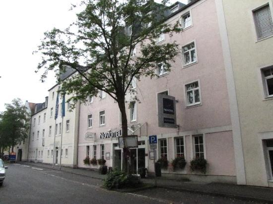Novotel facade picture of novotel wuerzburg wurzburg for Hotels in wuerzburg