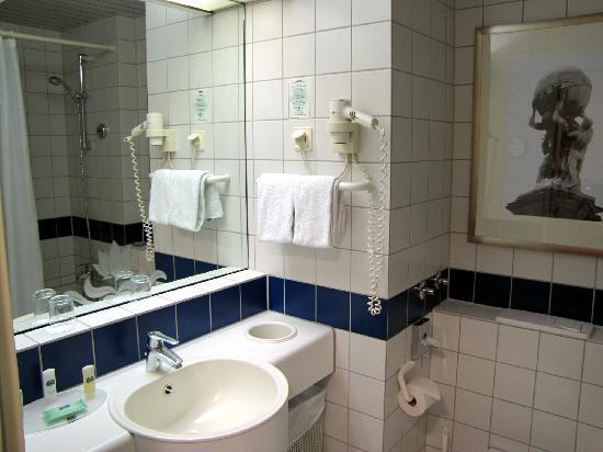 Motel Plus Frankfurt am Main: Cortyard bathroom