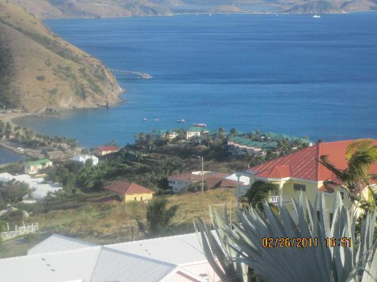 Villa Vista : View from balcony of villa