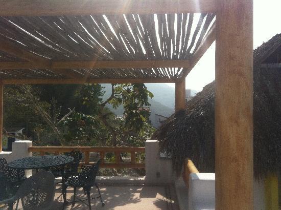 Luna Liquida Boutique Hotel: rooftop patio
