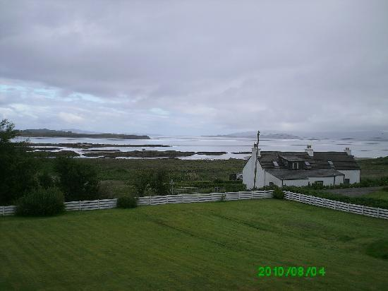Strathgorm Bed and Breakfast : Looking from the sea