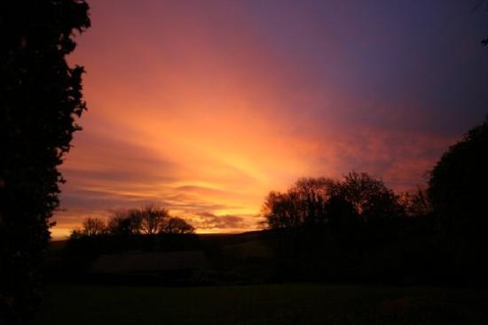 Cutthorne: sunrise