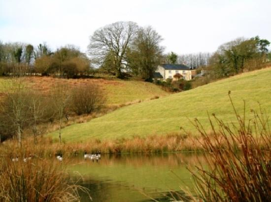 Cutthorne: house and lake
