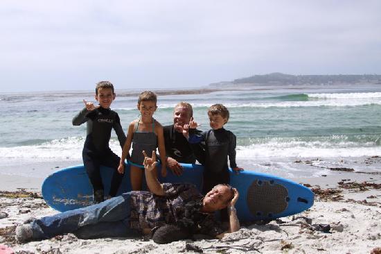 South Bay Surf Lessons: Hang Loose