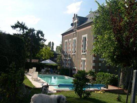La Demeure des Tanneries, la piscine