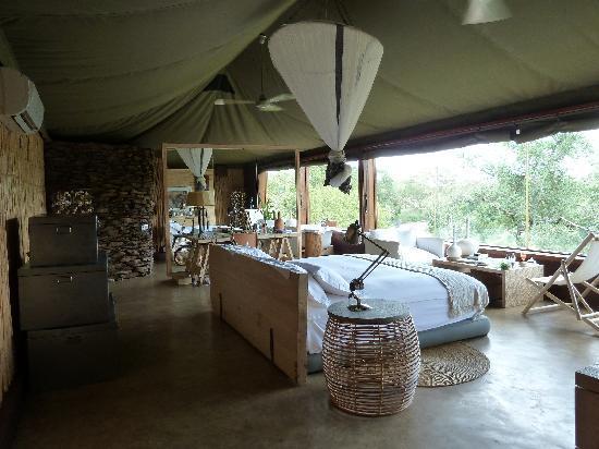 Singita Faru Faru Lodge: My room