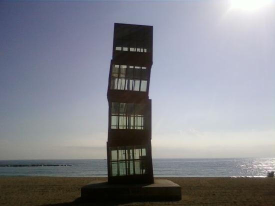 Casa sulla spiaggia foto di barcellona provincia di for Design di architettura casa sulla spiaggia