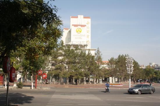 Jiayuguan Hotel: Hotel