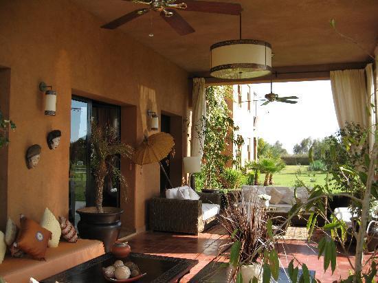Riad Al Mendili Kasbah: terrasse africaine