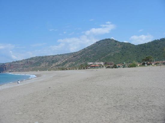 Gazipaşa, Türkiye: Main Beach of Gazipasa