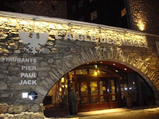 Hotel L'Aigle des Neiges: Hotel Aigle des Neiges