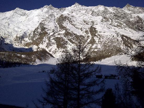 Chalet Hotel Annahof : The view from the balcony