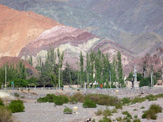 Tilcara, Argentina: cerro de los siete colores