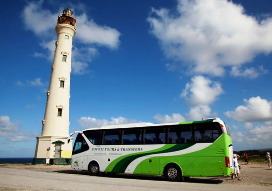 Fofoti Tours & Transfers : Touring Aruba in comfort and style