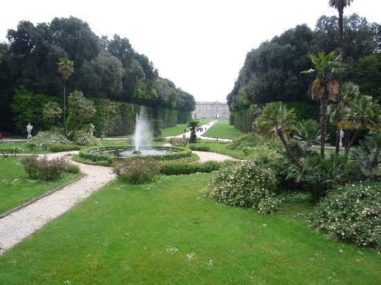 La Reggia di Caserta: fontana