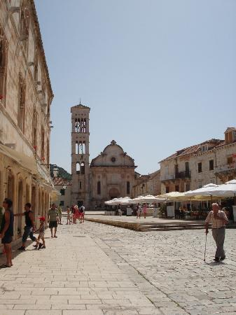 Hvar, Kroatië: Stadtzentrum