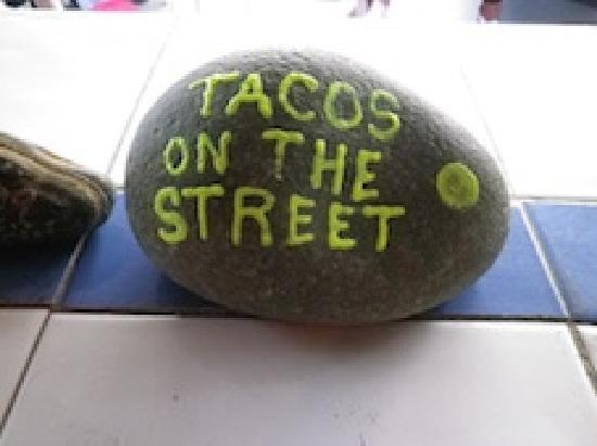 Tacos on the Street: clients made these as paper weights