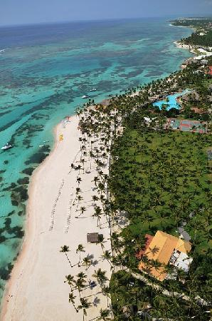 Club Med Punta Cana: Ocean for miles and miles!