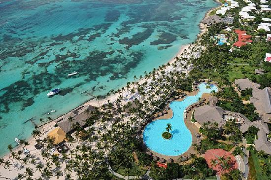 Club Med Punta Cana: Aerial view!