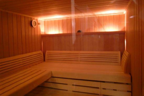 Chalet Hotel Ambassador: brand new Sauna - worth a million after day's skiinng