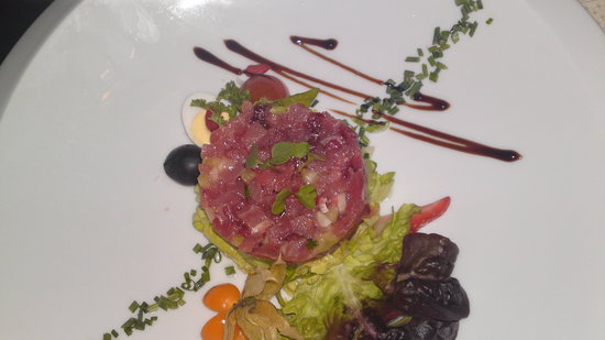 Restaurante La Viña de Calpe: carpaccio of tuna