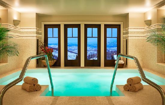 Montage Deer Valley: Spa Montage Indoor Hot Tub